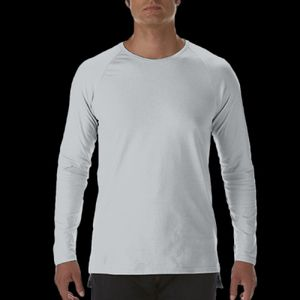 Long Sleeve Lightweight Long and Lean Raglan T-Shirt Thumbnail