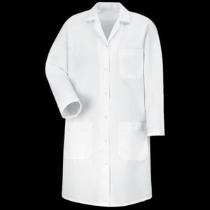 Women's Gripper Front Lab Coat Thumbnail
