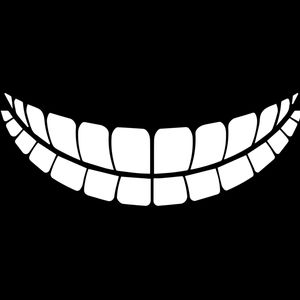 CM-20 Mask Emoji Teeth White Ink Thumbnail