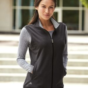 c6e855ece4187 Adidas Women's Full-Zip Club Vest